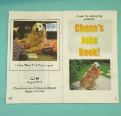 CHASE JOKE BOOK cover